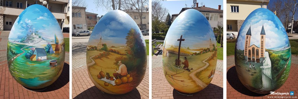 medjugorje travel transfers tours and travel from ireland from australia tours to medjugorje from dubrovnik tours to medjugorje Easter egg from the heart